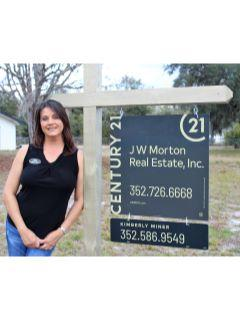 Kimberly Miner of CENTURY 21 J W Morton Real Estate, Inc.